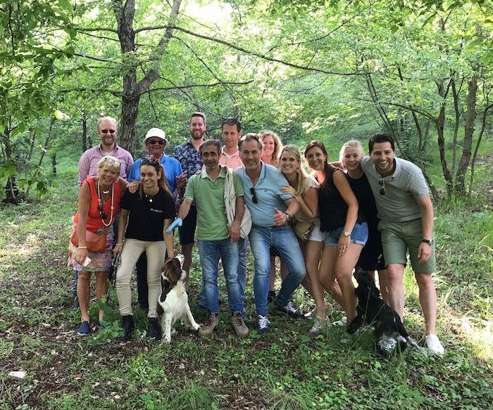 truffels zoeken in Umbrie